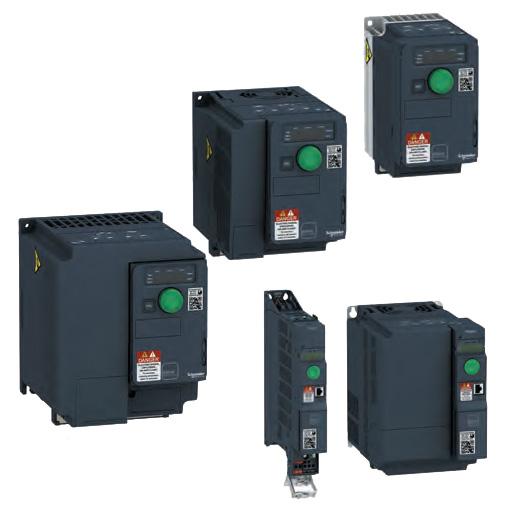 Преобразователи частоты(ПЧ) Altivar Machine ATV320 Schneider