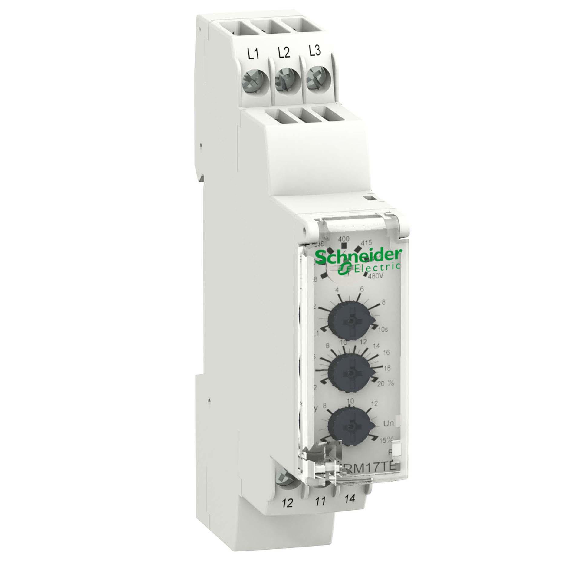 rmte Модульные реле измерения и управления zelio control  zelio control rm17te rm17te00 schneider electric